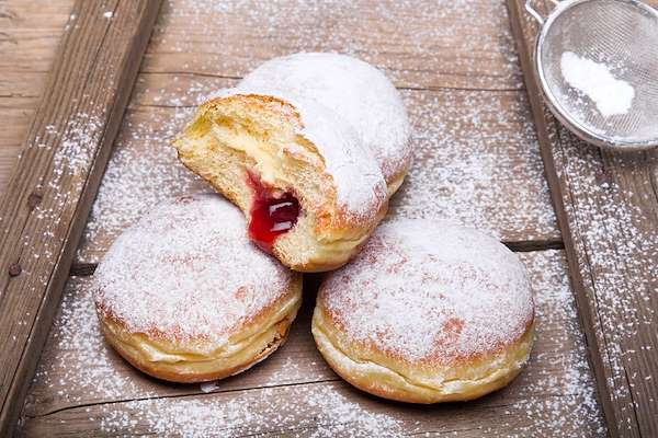German Carnival Doughnuts Recipe