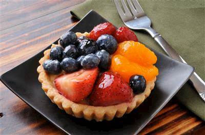 Glazed Fruit Tarts Recipe