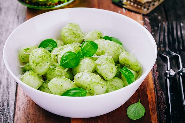 ChefBear Complete Meals - gnocchi in pesto sauce