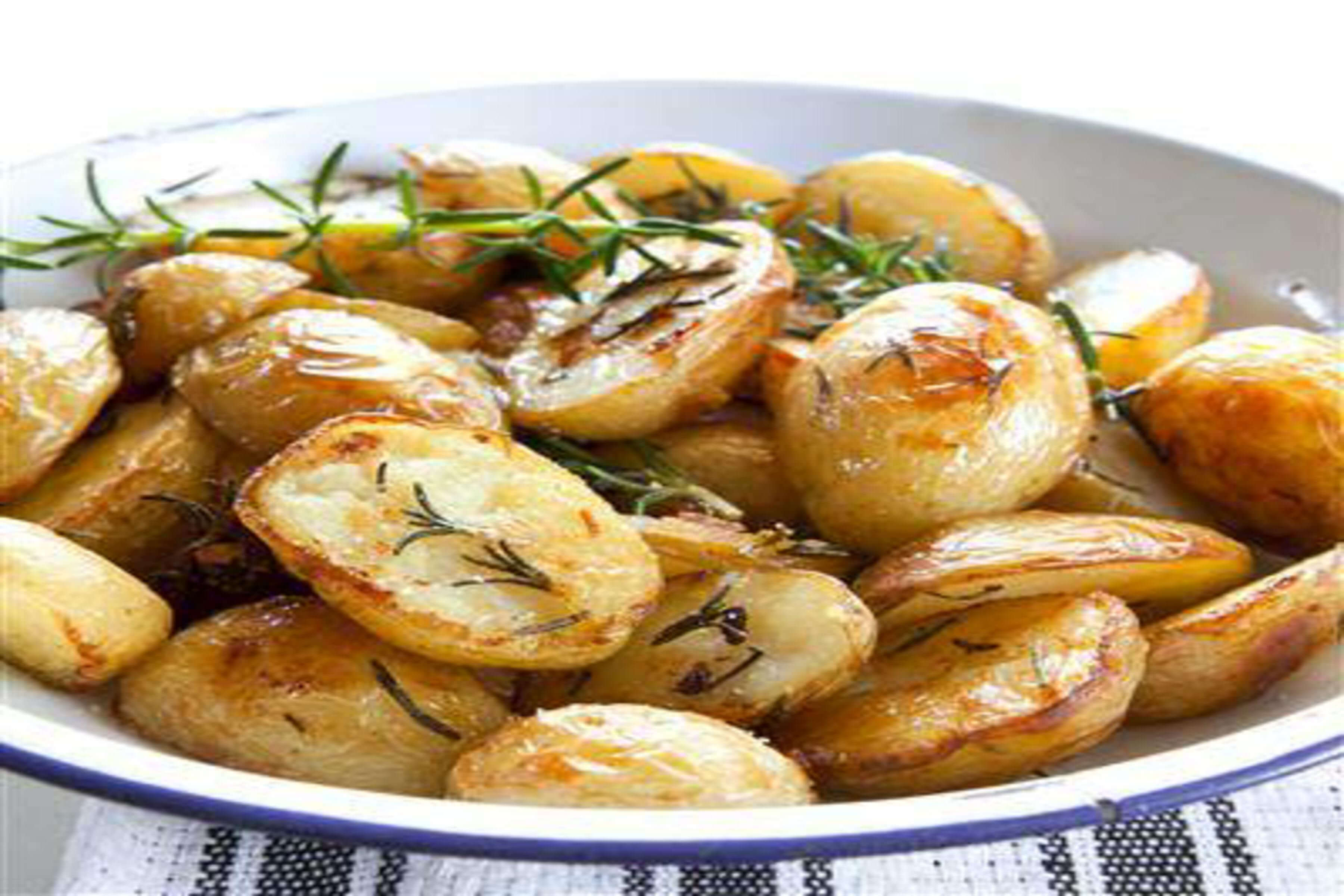Golden Potatoes Roasted In Goose Fat Recipe