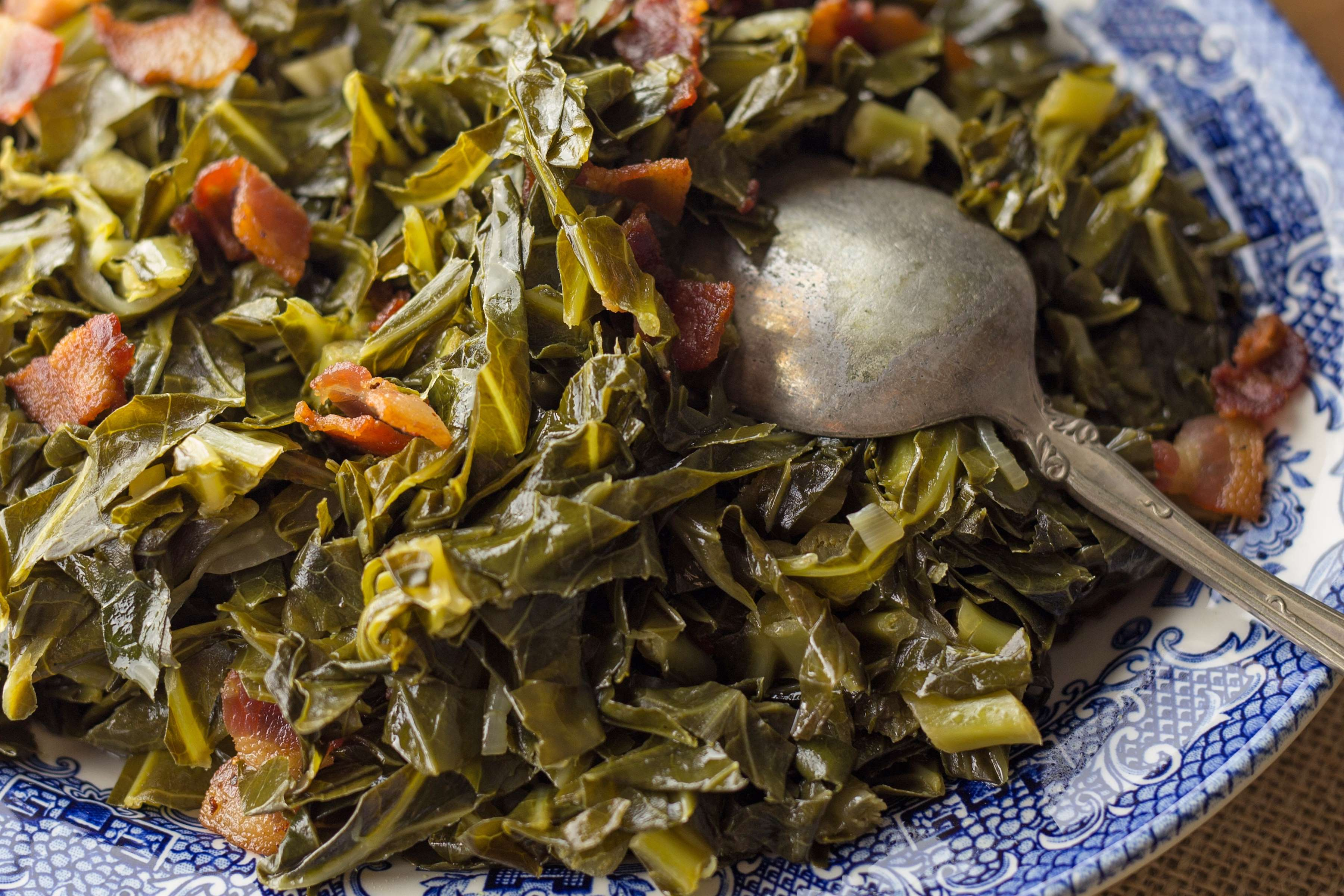 Stewed Collard Greens Recipe | RecipeSavants.com