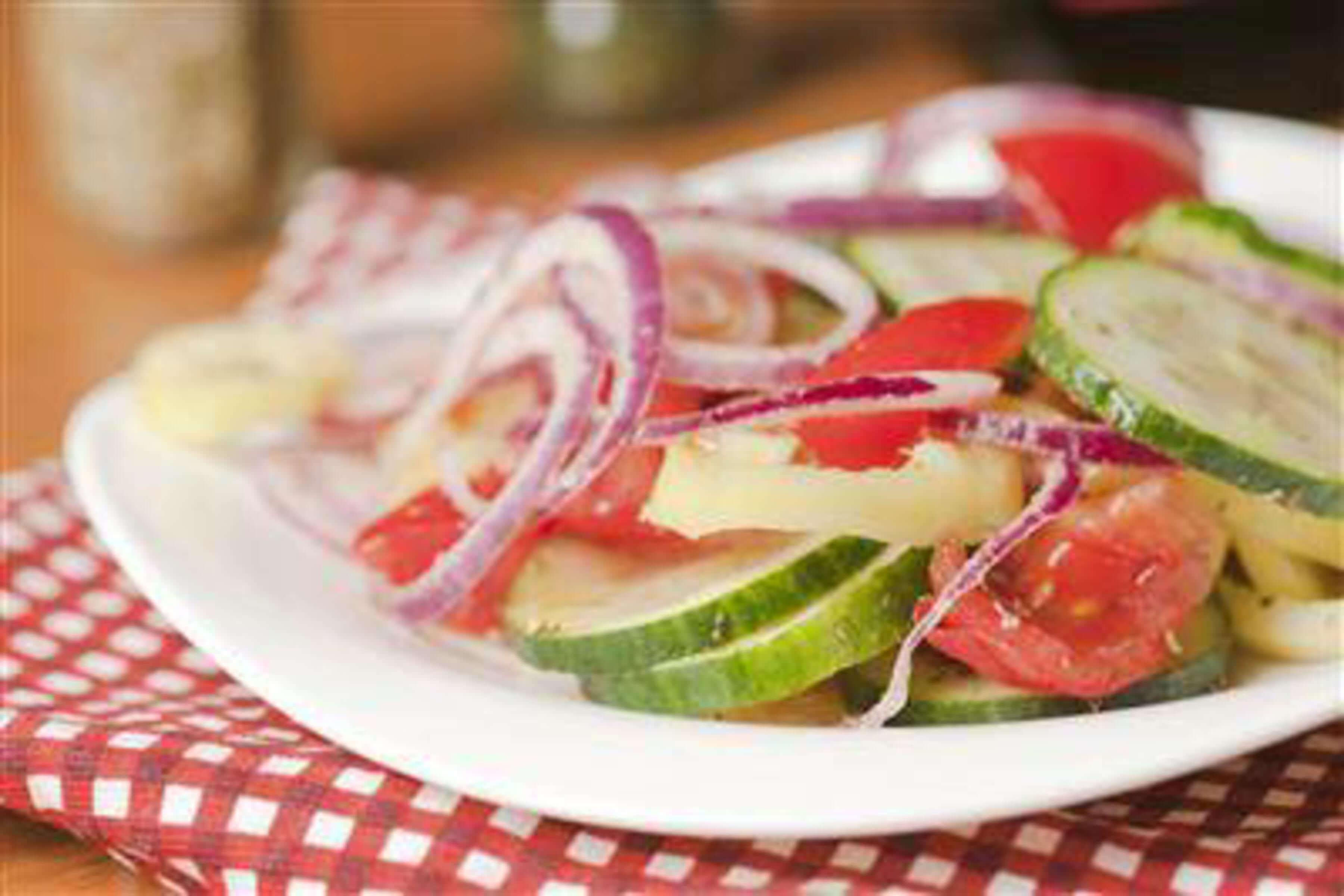 Greek Cucumber Salad Recipe | RecipeSavants.com