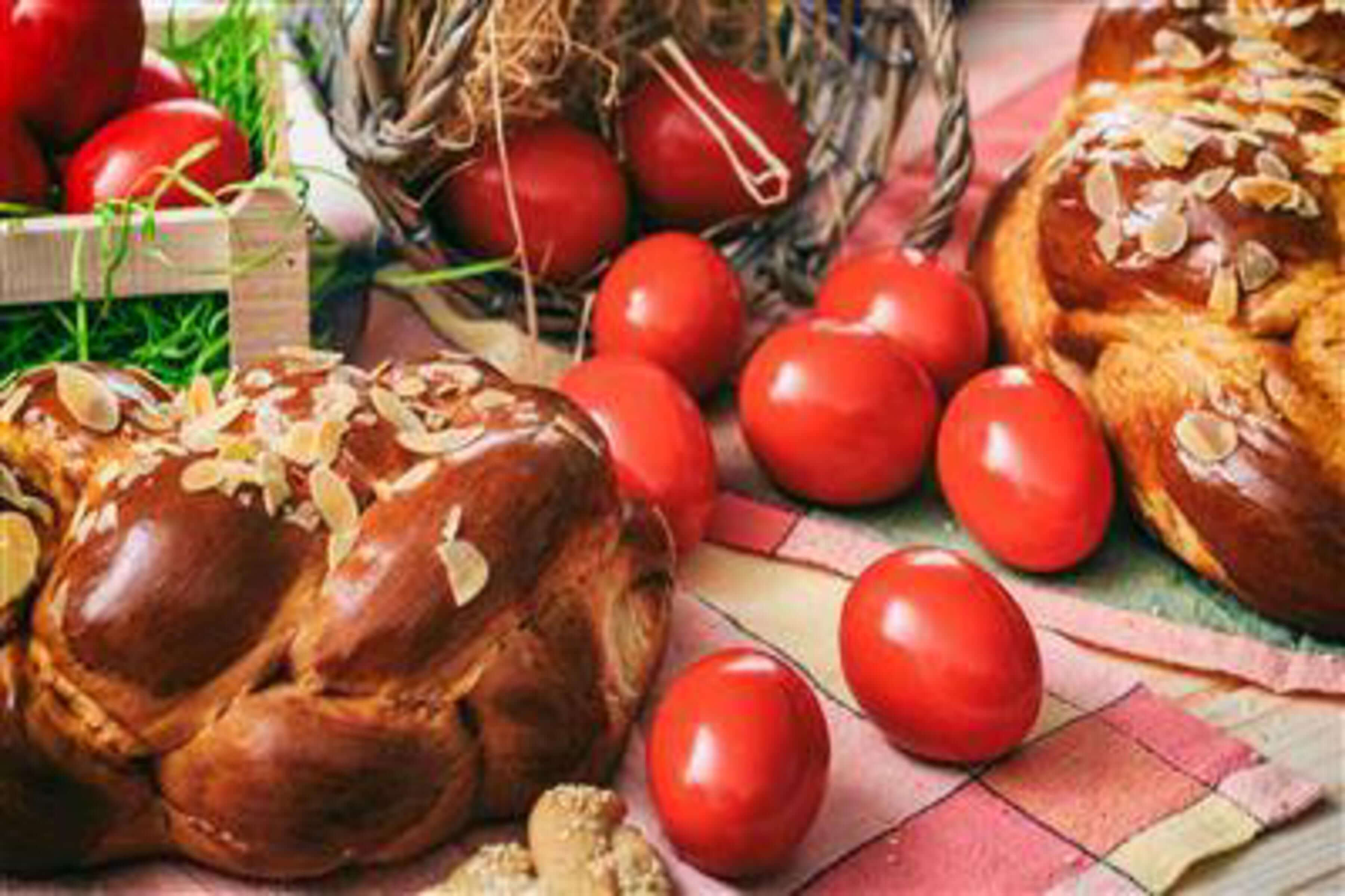 Greek Easter Eggs Recipe | CHEFBear.net