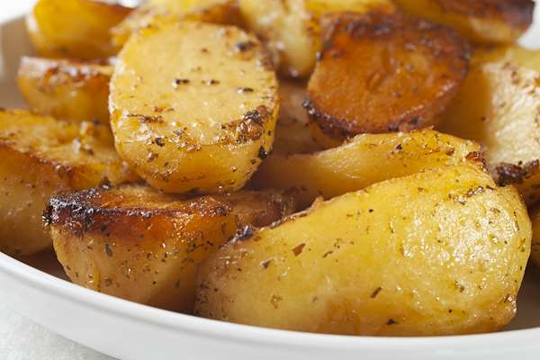 Recipe For Greek Oven-Roasted Potatoes