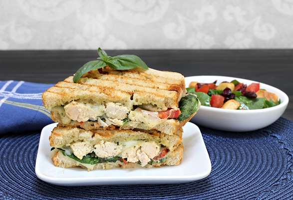 Greek-Style Panini Recipe