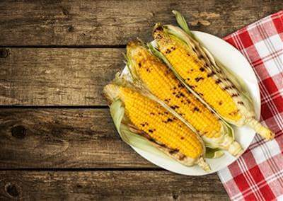 ChefBear Complete Meals - grilled corn on cob