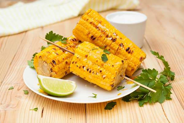 Grilled Corn On The Cob With Lime Butter Recipe