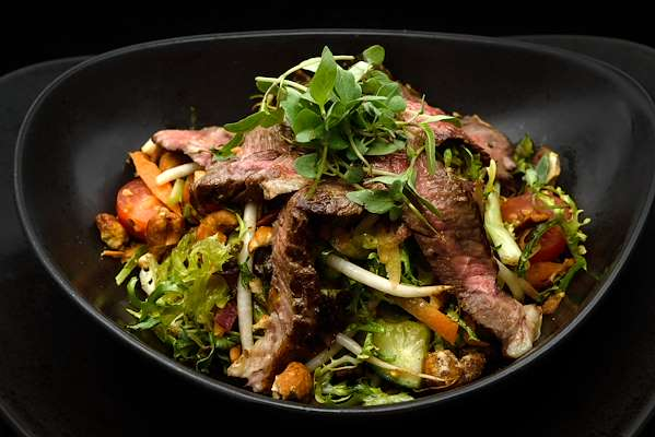 Grilled Flank Steak Salad Recipe