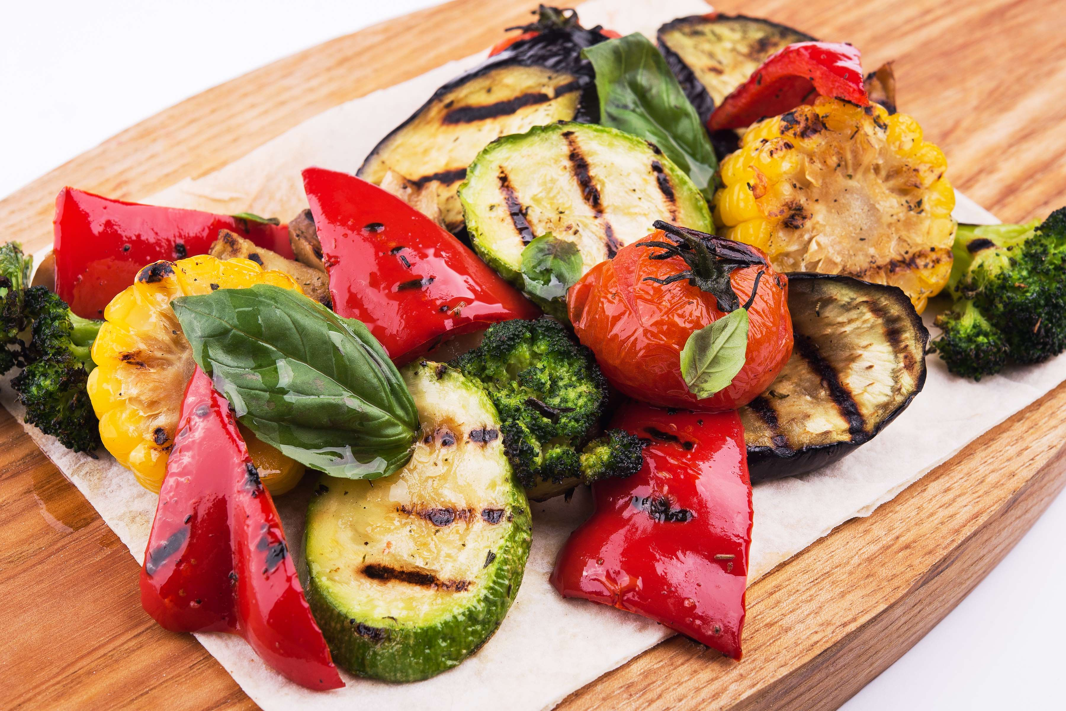 Grilled Vegetable Salad Recipe | RecipeSavants.com