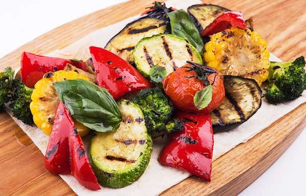 ChefBear Complete Meals - grilled vegetable salad