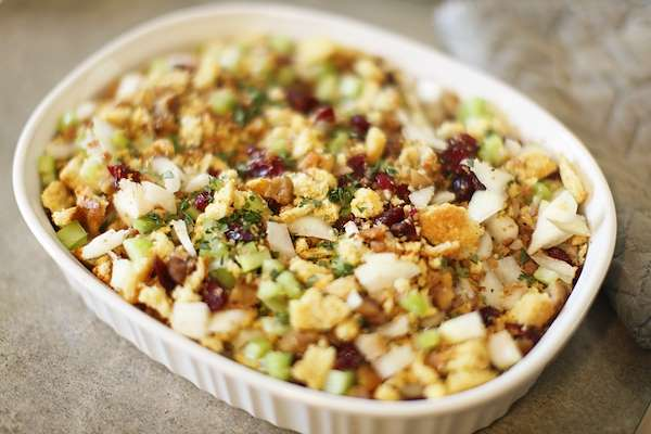 Herbed Challah Stuffing Recipe