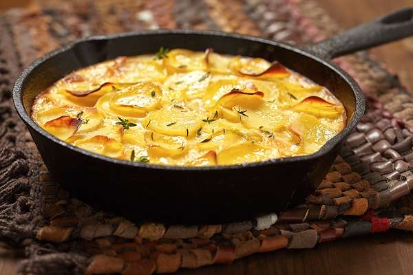 RecipeSavants - Home Style Scalloped Potatoes