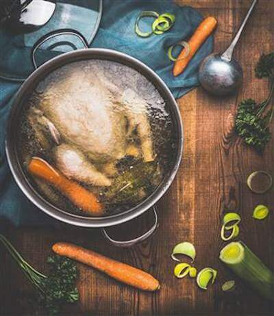 Homemade Chicken Broth Recipe