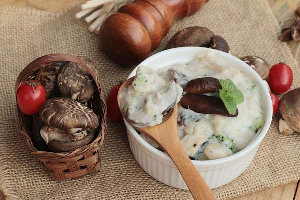 Confident Kitchen Meal Plans - Homemade Condensed Cream Of Mushroom Soup