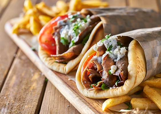 Recipe Savants - Homemade Greek Gyros