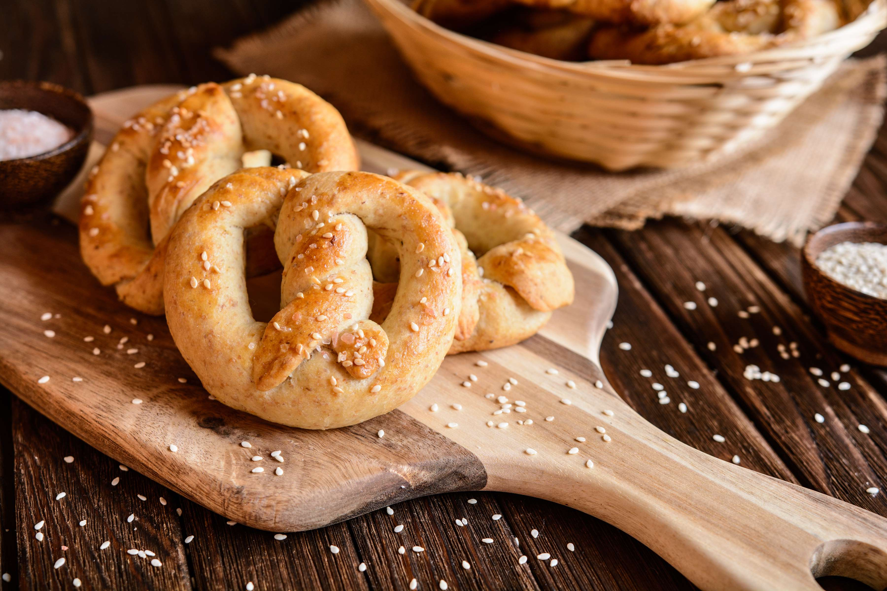 Homemade Pretzels Recipe | CHEFBear.net