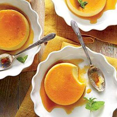 Honey Flans Recipe
