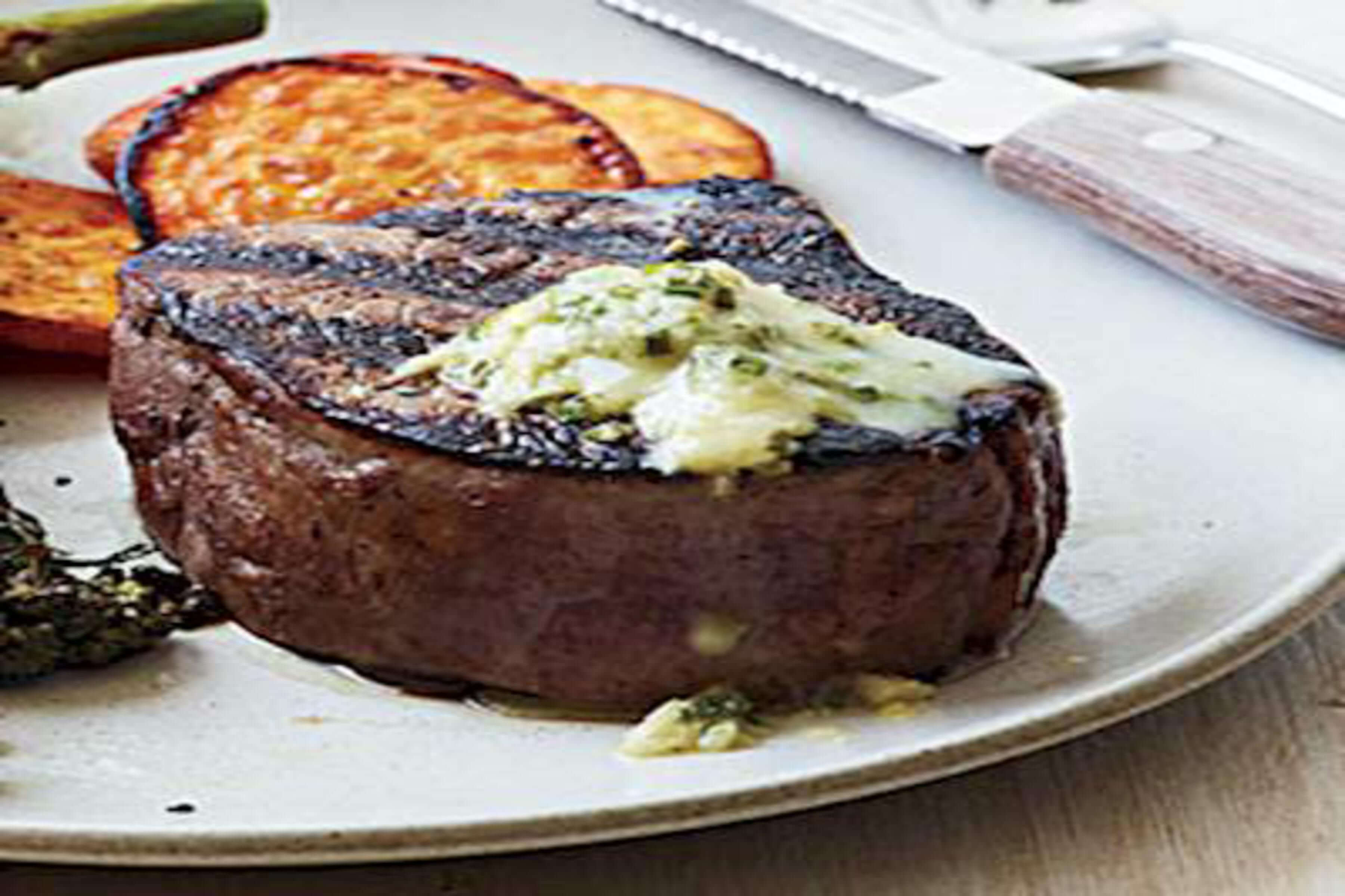 Horseradish And Butter Steaks Recipe