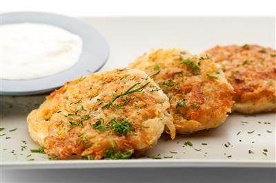 Horseradish Potato Cakes Recipe