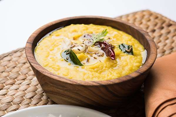 RecipeSavants - Indian-Style Split Pea Soup (Dal Tadka)