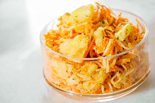 Island Cole Slaw Recipe