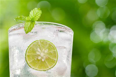 Island Mint Cooler Recipe