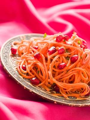 Israeli Carrot & Pomegranate Salad Recipe