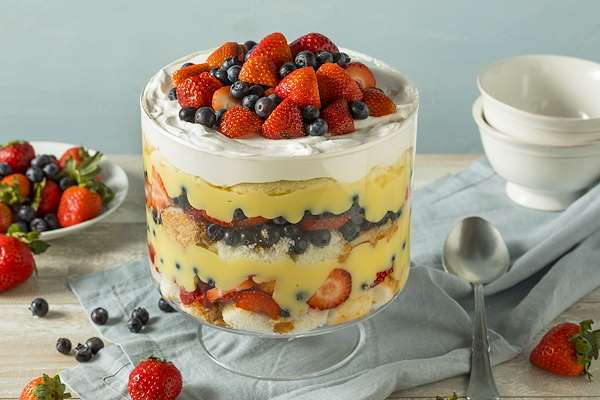 ChefBear Complete Meals - italian trifle with marsala