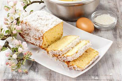 RecipeSavants - Jamaican Toto- A Traditional Coconut Cake