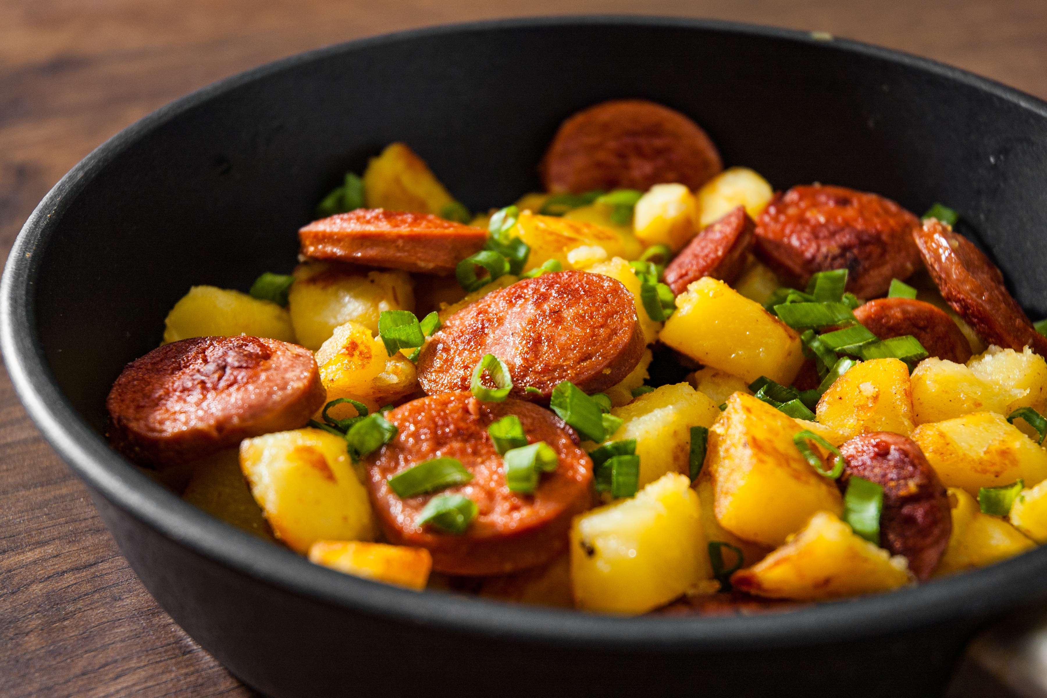 Kielbasa And Squash Recipe | RecipeSavants.com