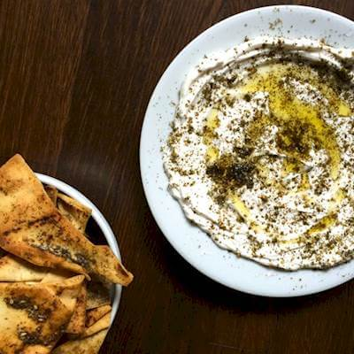Labneh With Olive Oil And Zaatar Recipe