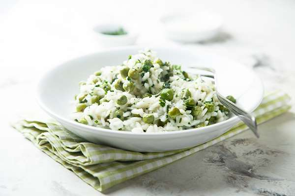 Lemon & Veggie Risotto Recipe