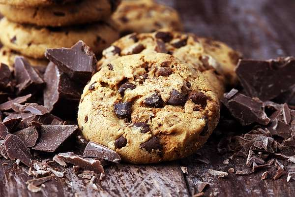 Orginal Recipe For Loaded Chocolate Chip Cookies - easy American recipe easy Dairy,Eggs,Grains recipe