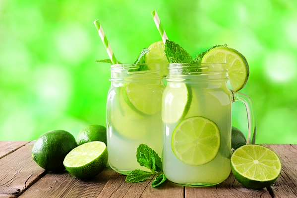 RecipeSavants - Minty Vodka Lemon-Limeade