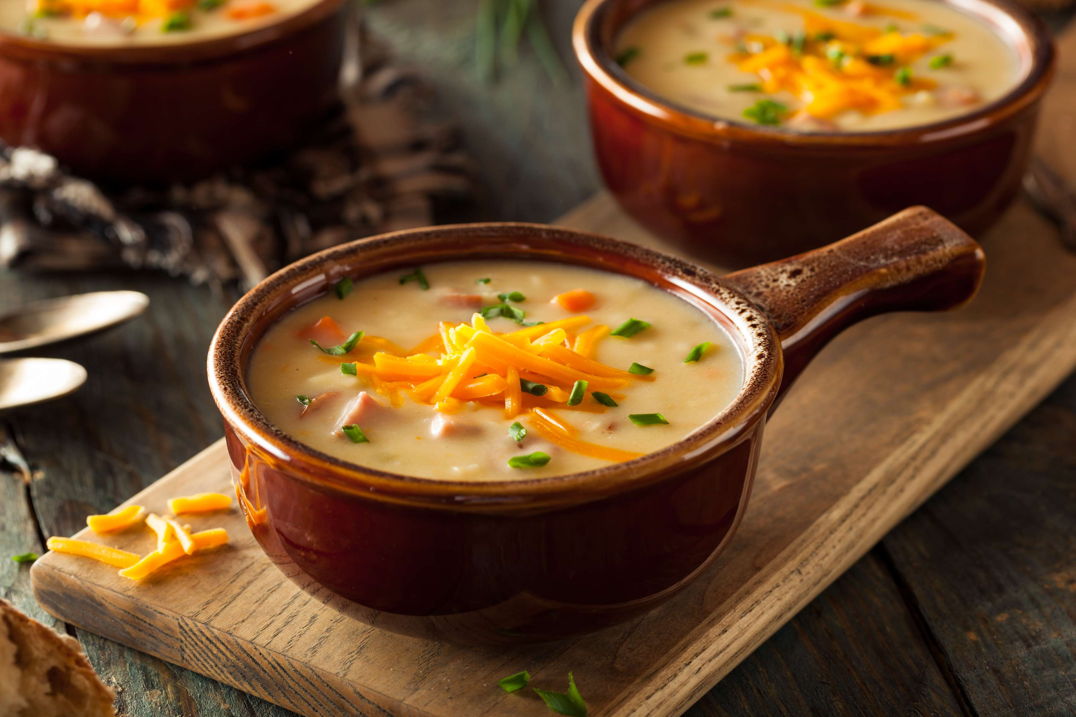 Modern Irish Beer And Cheddar Soup Recipe