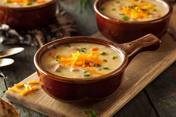 Modern Irish Beer & Cheddar Soup Recipe