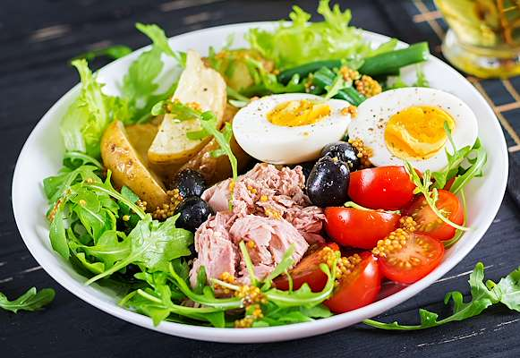 Modern Nicoise Salad Recipe