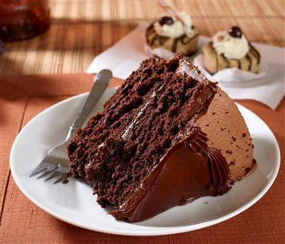 Moist & Fluffy Devils Food Cake Recipe