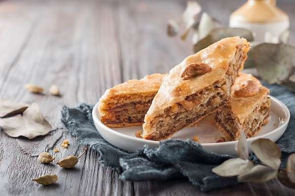 Nutty Baklava Recipe