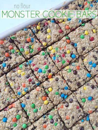 Oatmeal Candy Bars Recipe