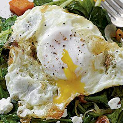 Olive Oil-Fried Eggs Recipe