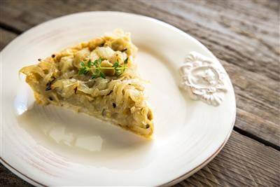 Orginal Recipe For Onion Tart - easy American recipe easy Vegetables,Pork recipe