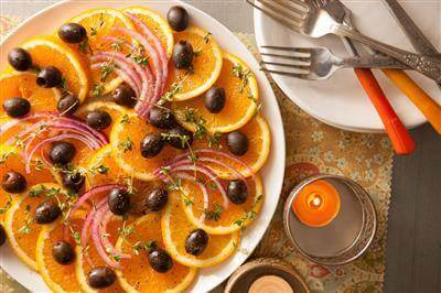 Orange-Onion-Olive Salad Recipe