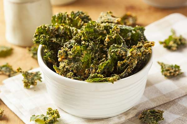 Oven Baked Kale Chips Recipe
