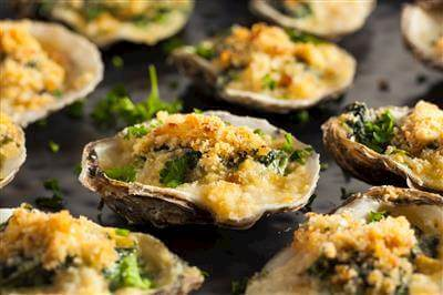 ChefBear Complete Meals - oysters rockefeller