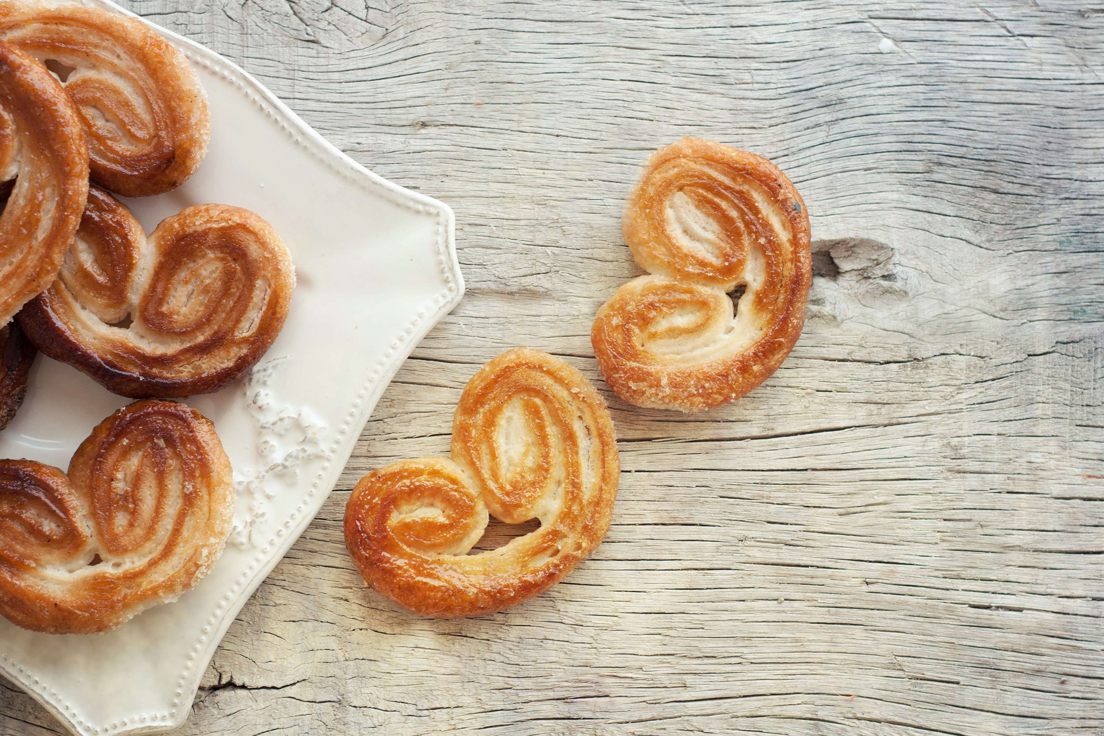 Palmier Cookies Recipe | RecipeSavants.com