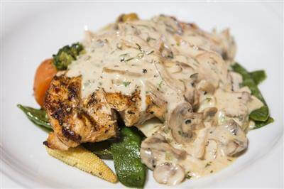 Pan Seared Chicken Strips With Mushroom Sauce Recipe