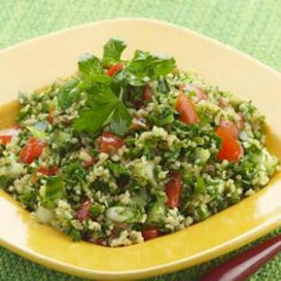 Parsley & Mint Tabbouleh Recipe
