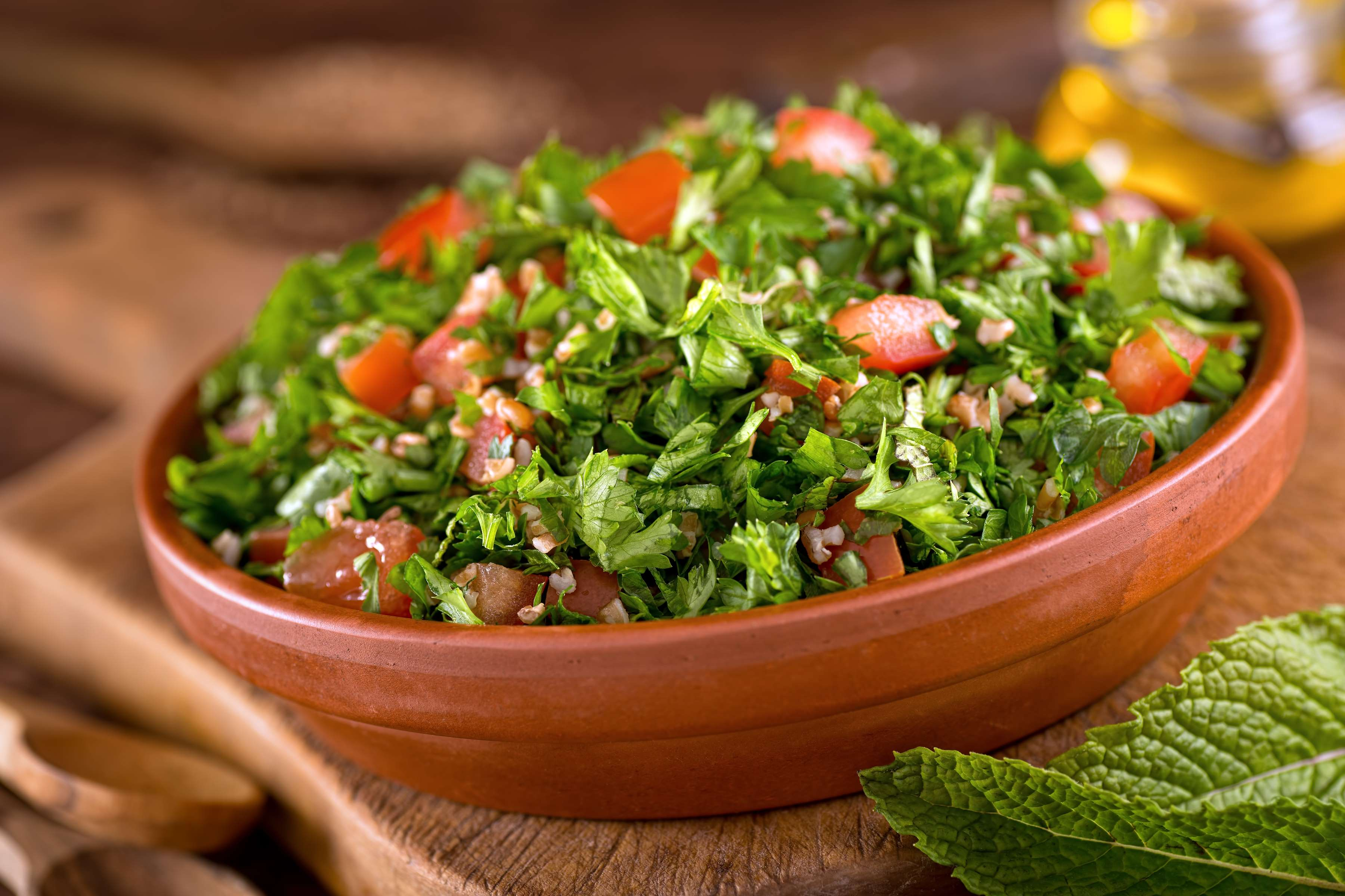 Parsley Tabbouleh Recipe | RecipeSavants.com