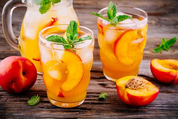 Peachy Tea Punch Recipe